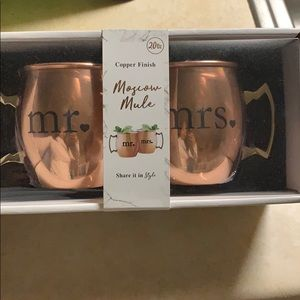 Brand New his and hers Moscow Mule Cups